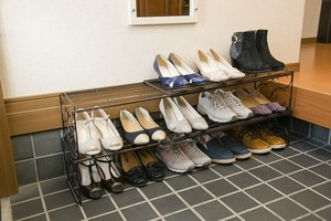 Elegant Expansion Shoes Rack 2 Pcs