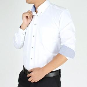 ワイシャツ 長袖 Yシャツ ビジネスシャツ 形態安定 sun-ml-wd-1130-hcdf-ss21