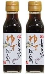 富山湾しろえび ゆずぽん酢トナミ醤油