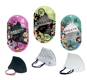 『TinyTAN』BREATH SILVER QUINTETマスク1pcs(2枚入)3種アソートセット