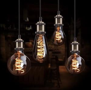 LED エジソンバルブ スパイラルフィラメント