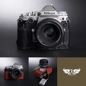 TP Original Nikon Df 専用 レザー カメラケース 2colors ニコン 本革 牛革 カメラ用品