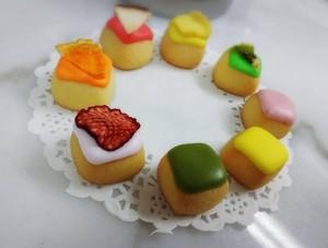 プチドライフルーツアイシングクッキー