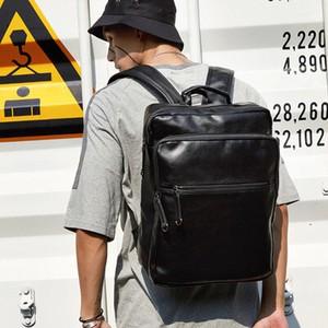 高品質 PUレザー 通勤 リュック ブラック メンズ バックパック