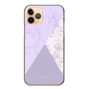 スマホケース iPhone ケース iPhone12 Pro 大理石 花柄 バイカラー 可愛い