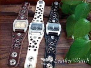 3 Colors Eyelet Watch Made in Japan
