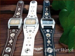Plating Studs Hand Watch Made in Japan