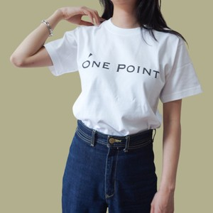 ONE POINT LOGO WHITE PREMIUM T-SHIRTS ワンポイントロゴ ホワイトプレミアム 半袖Tシャツ 白