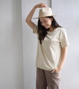 フロントALOHA刺繍Tシャツ [210020] ユニセックスタイプ・オーガニックコットン100%