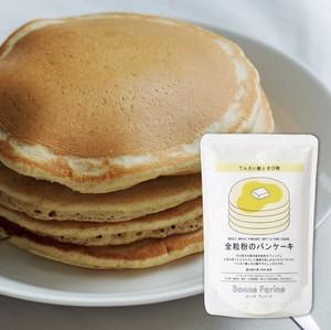 全粒粉のパンケーキ てんさい糖ときび糖