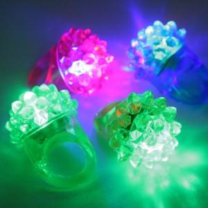 【光るおもちゃ】光るフルーツ指輪【光る指輪】