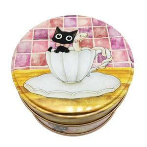絢爛茶缶 しろへび  健康茶