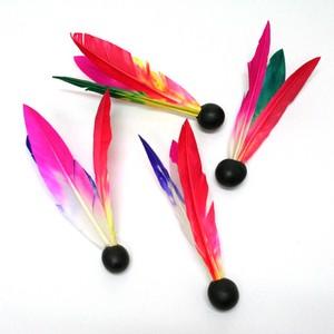 【日本のおもちゃ和風/懐かし玩具】3本羽根