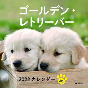 【大判】ゴールデン・レトリーバー 【2022カレンダー】
