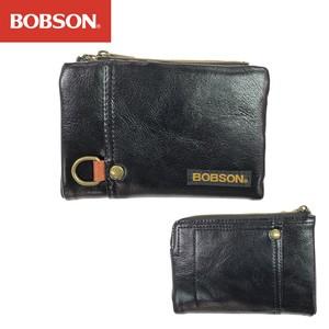 【BOBSON ボブソン】取り外し可能な小銭入れ&カードポケット付き 二つ折り財布 2WAYタイプ