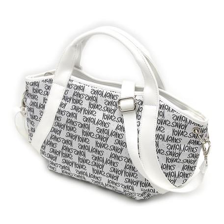 Jacquard Weaving Graph Shoulder Bag | Export Japanese