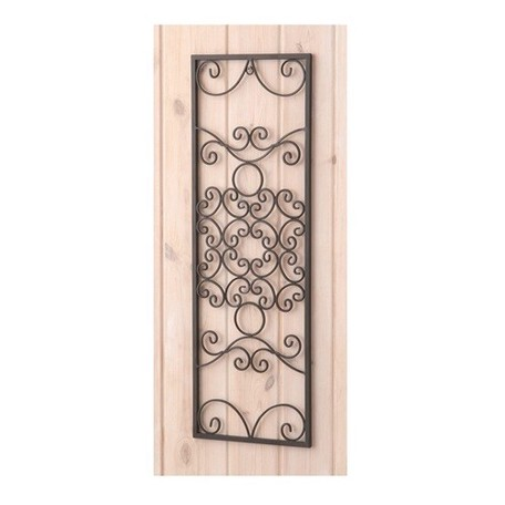 Wall Deco Rectangle Flower Ornament   Export Japanese ...