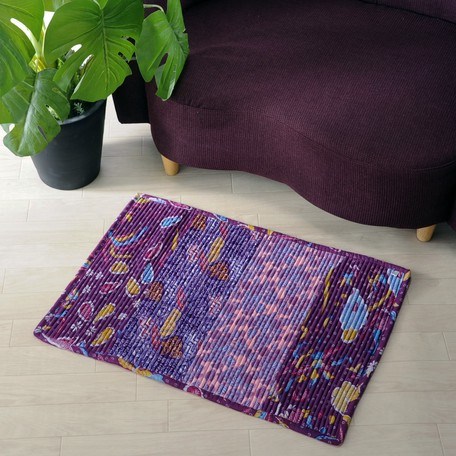 Large Format Floor Rug Reversible Bali