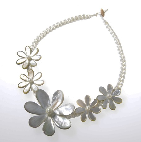Big Big Dance Flower Necklace Bali Export Japanese Products To The