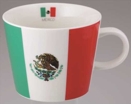 Flag Mug Mexico | Export Japanese products to the world at wholesale