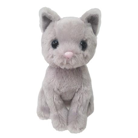 Premium Kitty Russian Blue Plush Cat Stuffed Toy Export