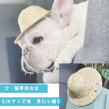 27f304e0954a9 Pet Product for Cat Straw Hat Pet