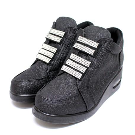 Ladies Rhinestone Sneaker Material