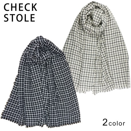 Stole Large Format Ladies Men S Checkered Checkered Lap Robe Shawl A