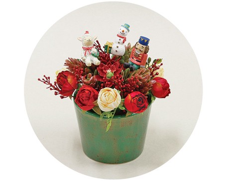 Flower Arrangement Christmas Air Beautiful Export Japanese Products To The World At Wholesale Prices Super Delivery