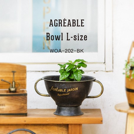 Black Retro Gray Bowl | Export Japanese products to the ...