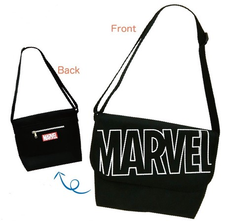 ffbbae9a80 Marvel Messenger Bag White Character