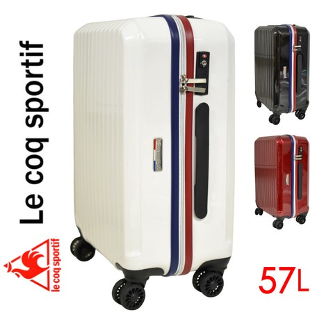 c3abf216dc キャリーケース 軽量 スーツケース TSAロック トリコロール ルコック ...
