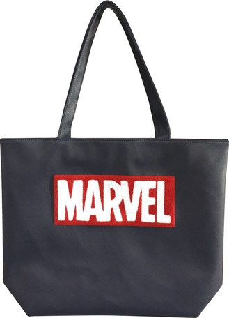 5aa935d561 Marvel Tote Bag Wide Type Black