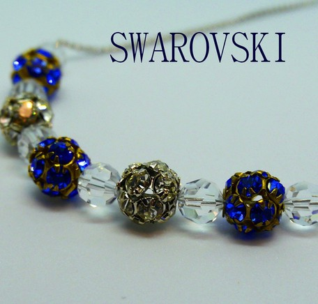 finest selection cheaper sale purchase genuine 2019NewItem] Swarovski Crystal Color Rondel Design Necklace ...