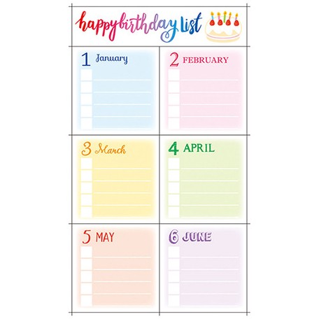 Masking SEAL Decoration Birthday List | Export Japanese products to
