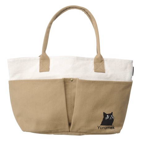 03ae05448d Canvas Multi Bag Black cat   Export Japanese products to the world ...