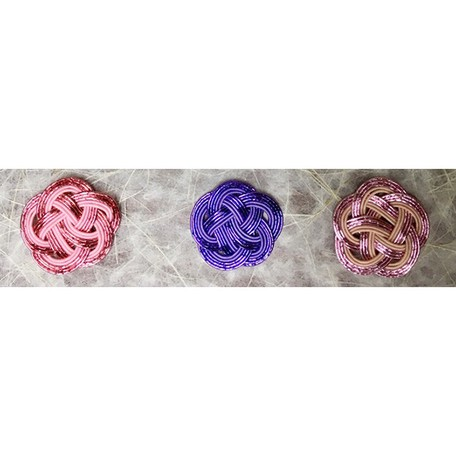 Items Knot Light Pink Purple Pink 6 Pcs   Export Japanese