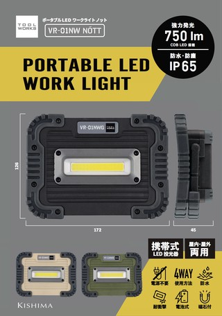 Power Source Dry cell Waterproof Light | Export Japanese products to