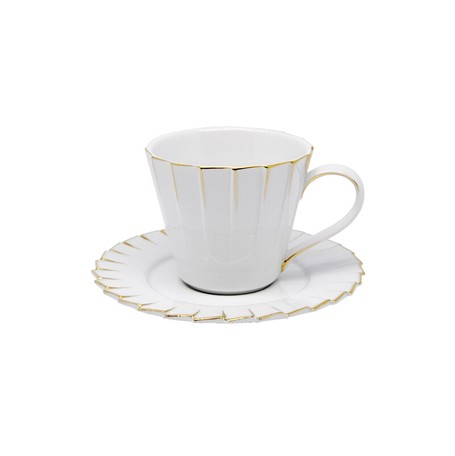 Cup Saucer Pleats | Export Japanese products to the world at