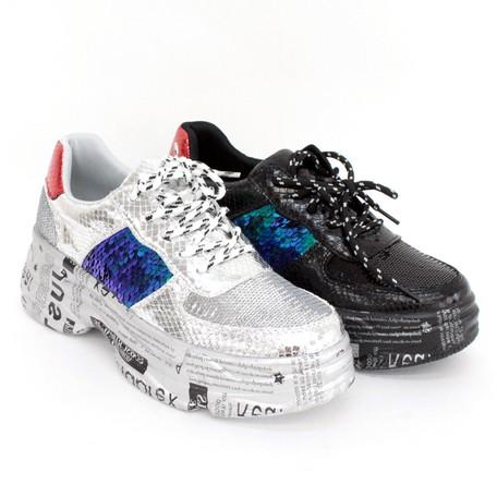 Glitter Sole Sneaker | Export Japanese