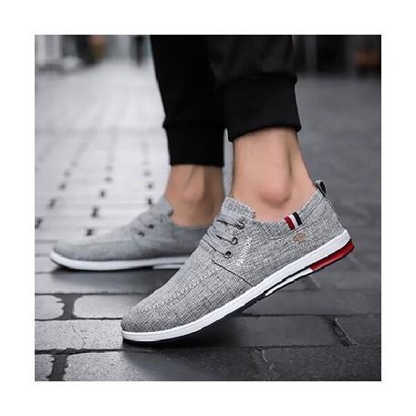 Sneaker Men's Casual Shoe Plain Sport