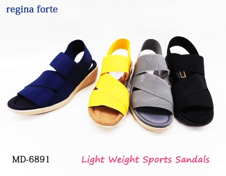 Light-Weight Elastic Belt Sport Sandal