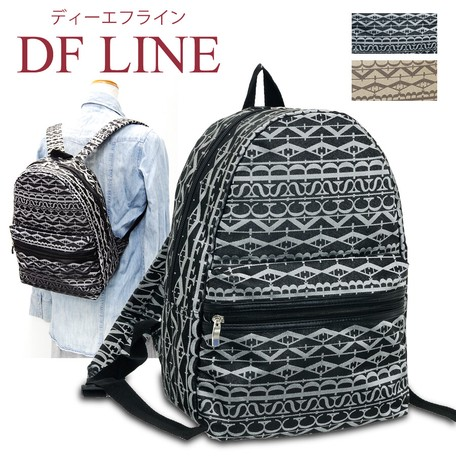 Monogram Jacquard Backpack Line Line S S Export Japanese Products To The World At Wholesale Prices Super Delivery