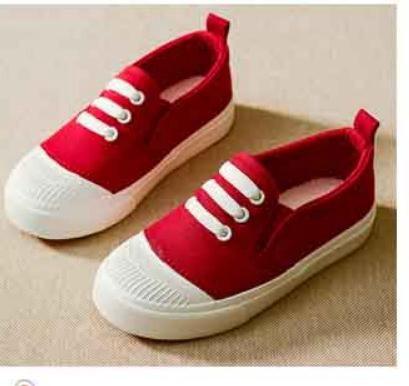 Canvas Shoes Sneaker Kids Shoes